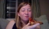 Nesėkmingas bandymas suvalgyti picą