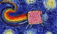 Van Gogo paveikslų parodijos