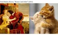 Katės kaip meno šedevrai