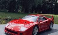 Labai detalizuotas Ferrari modelis