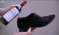 Kaip atidaryti vyno butelį be kamščiatraukio