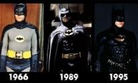 Filmų personažai praeityje ir dabar