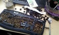 Ką galima padaryti su sena klaviatūra