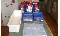 Milžiniškas savos gamybos Kit Kat