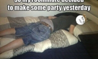 Nemiegok per vakarėlius