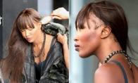 Kas nutiko Naomi Campbell plaukams?