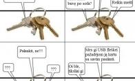 Kur dingsta raktai