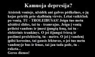Puikus vaistas nuo depresijos