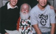 Kaip reikia fotkintis su Kalėdų seneliu