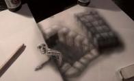Nerealūs piešiniai - optinės iliuzijos