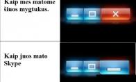 Skype logika