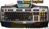 One.lt klaviatūra