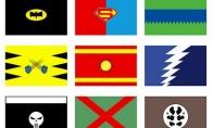 Superherojų valstybių vėliavos