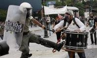 Graikijos riaušių policininkas