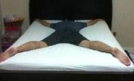 Kaip vyrai miega