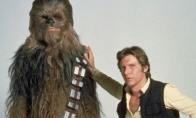 Chewbacca ir Han Solo: tada ir dabar