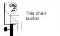 Me gusta kėdė