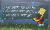 Simpsonų graffiti
