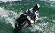 Motociklas vandeniu