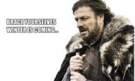 Žiema artėja