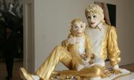 Maiklo džeksono statula