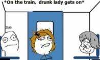 Nuotykis traukinyje