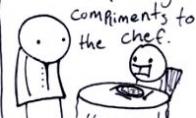 Komplimentai virėjui