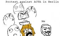 Protestas prieš ACTA Berlyne