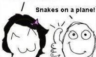 Gyvatės lėktuve