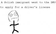 Apie lenkų imigrantą