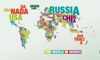 Žodinis pasaulio žemėlapis