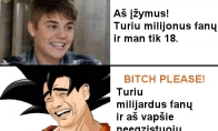 Songokas VS Bieberis