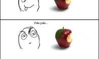 Dėl ko mes bijome obuolių