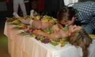 Pats seksualiausias vaišių stalas