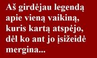 Legenda apie vieną vaikiną...