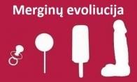 Merginų evoliucija