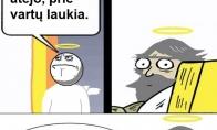 Kai miršta ateistai