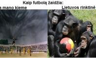 Apie futbolą lietuvišką