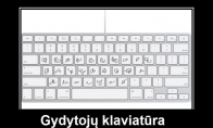 Specialios klaviatūros gydytojams