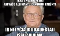 Algimanto Čekuolio magiški sugebėjimai...