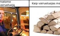 Vairuotojiška tiesa...