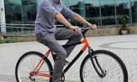 Stulbinantis sulankstomas dviratis