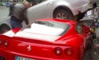 Vietoj Ferrario - dabar karutį tik vairuot :D (4 nuotraukos)