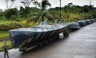 Povandeninis laivas kokaino pervežimui