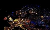 Žemės šviesos naktį