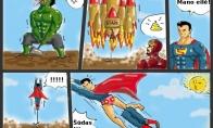 Kuris superherojus stipriausias?