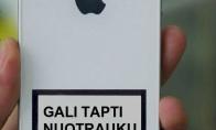 """Pavojingiausia """"Iphone"""" savybė"""