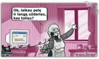 Kai močiutė užsinorėjo užsiregint Facebooke