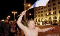 Suomių džiaugsmas po laimėto ledo ritulio čempionato