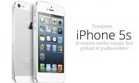 Naujas iPhone reklaminis šūkis